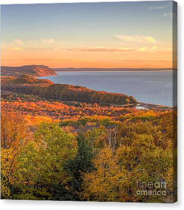 National Lakeshore Canvas Print - Fall In Sleeping Bear Dunes by Twenty Two North Photography