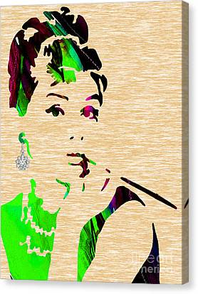 Audrey Hepburn Collection Canvas Print
