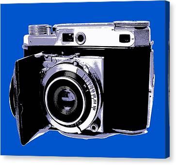 35mm Camera Canvas Print