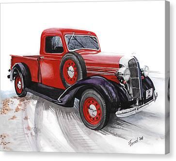 36 Dodge Canvas Print