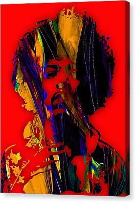 Jimi Hendrix Collection Canvas Print