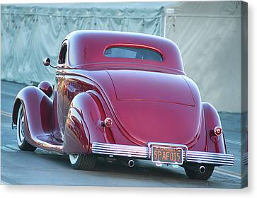 36 Tailpipes Canvas Print by Bill Dutting