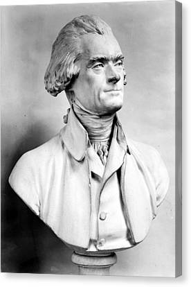 Thomas Jefferson (1743-1826) Canvas Print by Granger