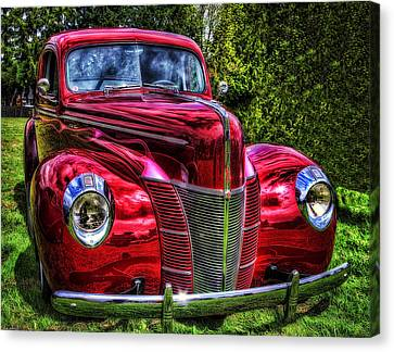 38 Ford Coupe  Canvas Print by Thom Zehrfeld