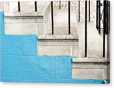 Stone Steps Canvas Print by Tom Gowanlock