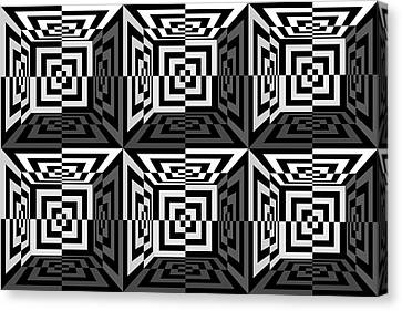 3d B2  Canvas Print by Mike McGlothlen