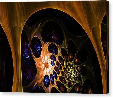 3d Chaotica Canvas Print