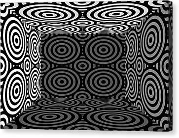 Canvas Print - 3d Mg553dw by Mike McGlothlen