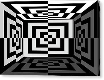 Canvas Print - 3Dw by Mike McGlothlen