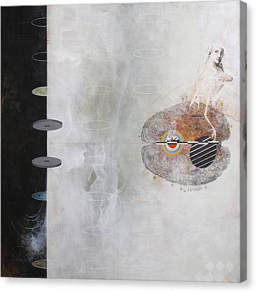 3rd Wheel Ghost Canvas Print by Sandra Cohen