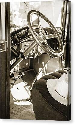 1924 Buick Duchess Antique Vintage Photograph Fine Art Prints 114 Canvas Print by M K  Miller