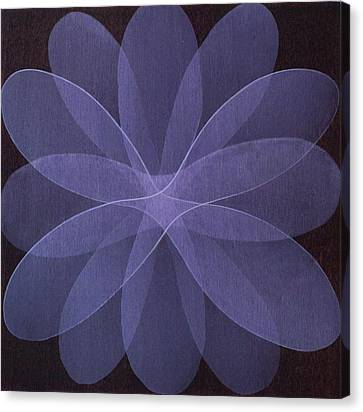 Abstract Flower  Canvas Print by Jitka Anlaufova