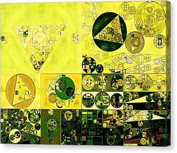 Abstract Painting - Black Bean Canvas Print by Vitaliy Gladkiy