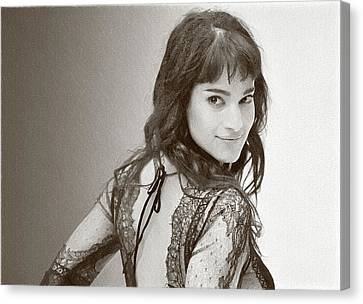 Actress And Dancer Sofia Boutella  Canvas Print by Best Actors