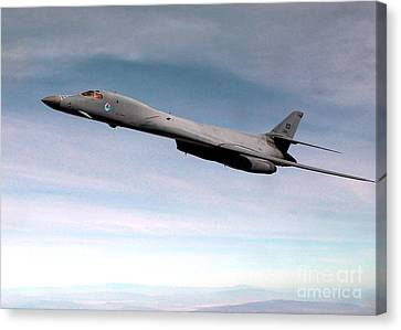Lancer Canvas Print - B-1 Lancer by Air Force