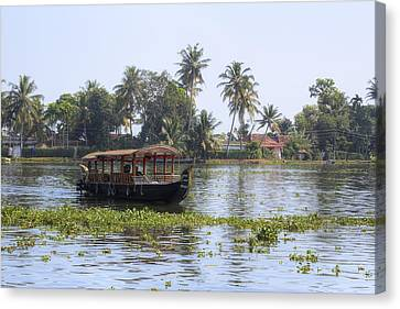 Backwaters Kerala - India Canvas Print by Joana Kruse