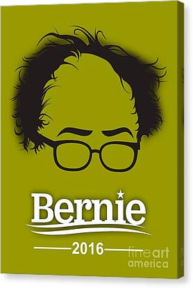 Bernie Sanders Canvas Print by Marvin Blaine
