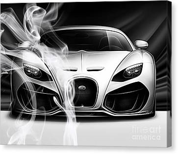 Bugatti Collection Canvas Print by Marvin Blaine