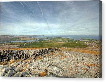 Burren View  Canvas Print by John Quinn