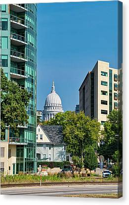 Canvas Print - Capitol - Madison - Wisconsin  by Steven Ralser
