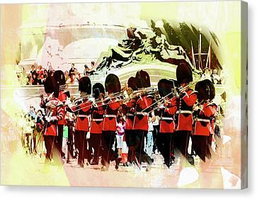 Changing Of The Guard Canvas Print