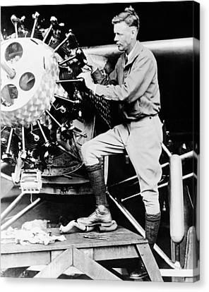 Charles Lindbergh Canvas Print