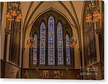 Chris Evans Canvas Print - Chester Cathedral  by Chris Evans