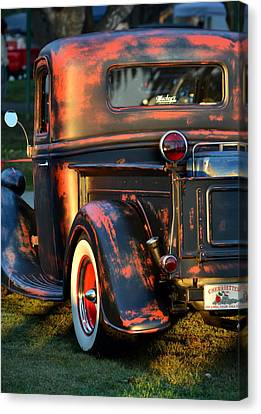 Classic Ford Pickup Canvas Print by Dean Ferreira