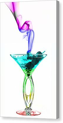 Cocktails Canvas Print - Cocktails Collection by Marvin Blaine