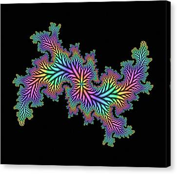 Computer-generated Julia Fractal Canvas Print