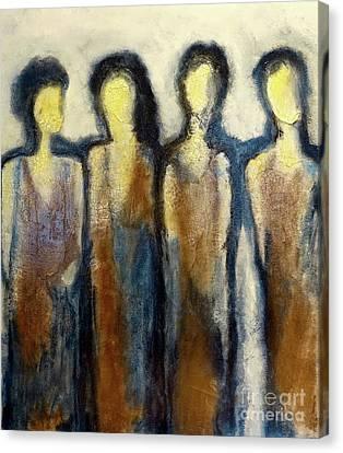 4 Diva's Canvas Print