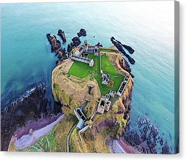 Dunnottar Castle Canvas Print