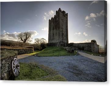Dysert O Dea Castle Canvas Print by John Quinn