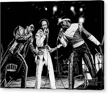 Earth Wind And Fire Collection Canvas Print by Marvin Blaine