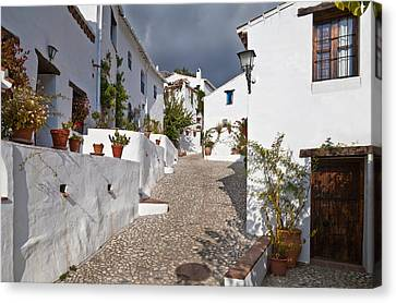 El Acebuchal, The Lost Village Or Ghost Canvas Print by Panoramic Images