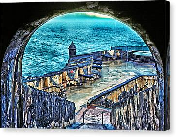 El Morro Fortress Old San Juan Canvas Print by Thomas R Fletcher