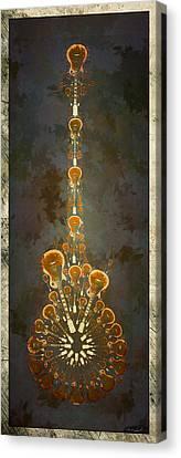 Electric Time Light Canvas Print