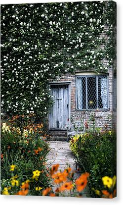 English Cottage Canvas Print by Joana Kruse