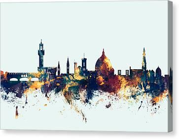 Florence Italy Skyline Canvas Print