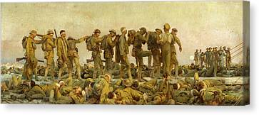 The Great War Canvas Print - Gassed  by John Singer Sargent