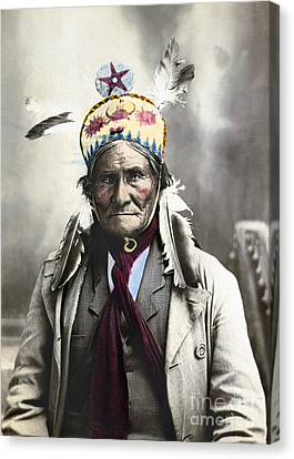 Geronimo (1829-1909) Canvas Print