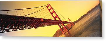 Golden Gate Bridge San Francisco Ca Usa Canvas Print by Panoramic Images