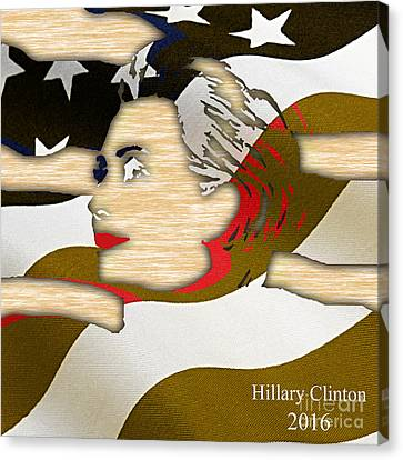 Hillary Clinton 2016 Collection Canvas Print