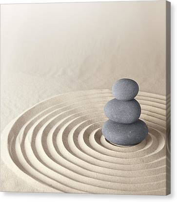 Japanese Zen Garden Canvas Print