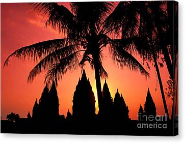 Java, Prambanan Canvas Print by Gloria & Richard Maschmeyer - Printscapes
