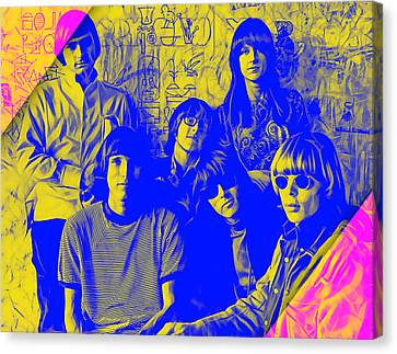 Grace Canvas Print - Jefferson Airplane Collection by Marvin Blaine