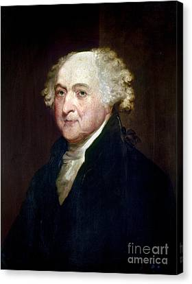 John Adams (1735-1826) Canvas Print by Granger