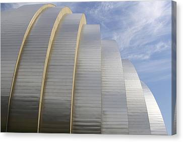 Mike Canvas Print - Kauffman Center For Performing Arts by Mike McGlothlen