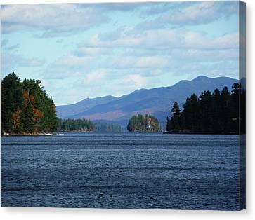 Lake Canvas Print by Kate  Leikin
