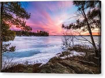 Canvas Print featuring the photograph Lake Winnipesaukee by Robert Clifford